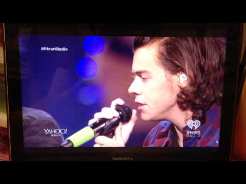 One Direction at the iHeartRadio Music Festival 2014
