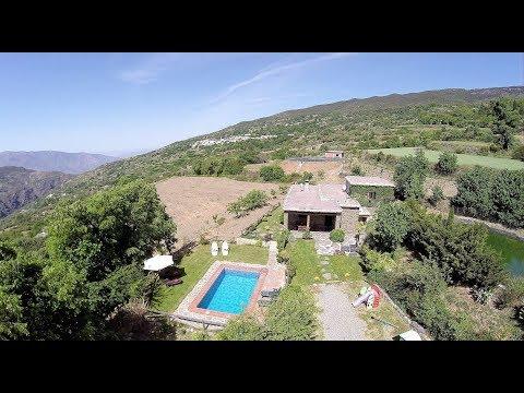 La Taha. Ref: 0046. Stone Built Cortijo with swimming Pool and great Views.