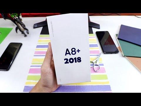 Samsung Galaxy A8+ 2018 Unboxing : Harganya Mantap