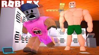 MY BIG BULLY WANTS TO BEAT ME UP IN ROBLOX