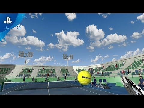 Dream Match Tennis VR - Announce Trailer | PS VR