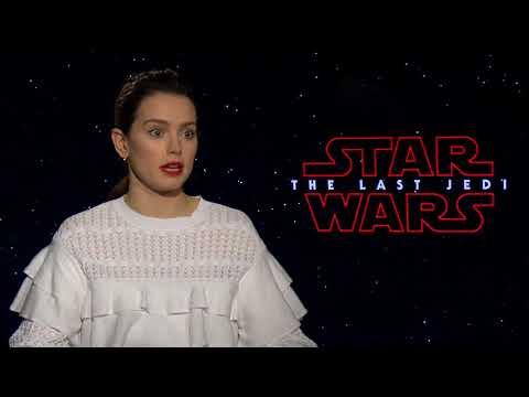 STAR WARS THE LAST JEDI Daisy Ridley Interview