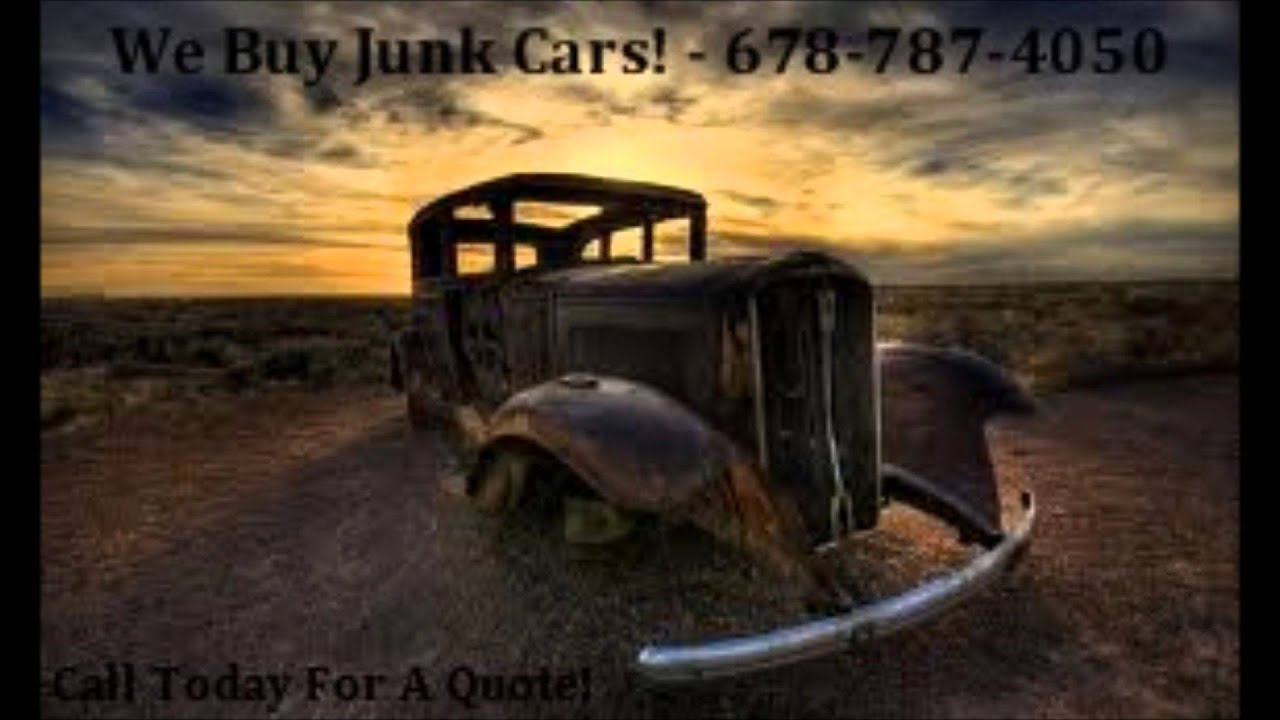 We Buy Junk Cars Griffin Ga - 678 -787-4050 - YouTube