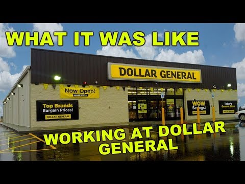 My Experience Working At Dollar General! Dollar General Job Review! What Was It Like?