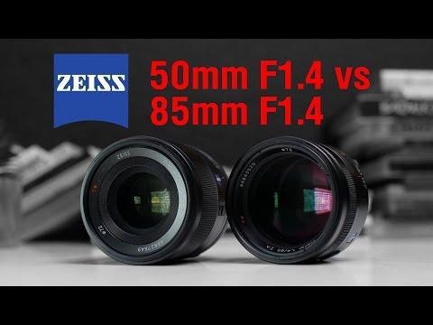 Sony Planar T* FE 50mm f/1.4 ZA vs Sony Planar T* 85mm f/1.4 ZA