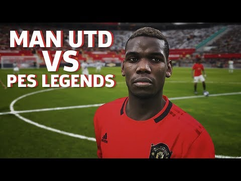 PES 2020: PS4 Pro Gameplay - Man United Vs. PES Legends
