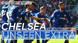 Super Sub Giroud Leads Fightback v Southampton | Unseen Extra