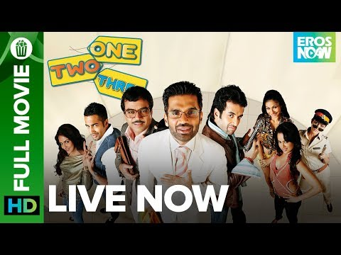One Two Three  Full Movie  on Eros Now  Suniel Shetty, Tushar Kapoor, Paresh Rawal & Esha Deol