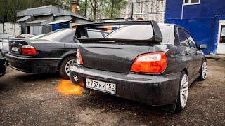 Subaru WRX как первая тачка. Повышаем уровень ВЁДЕР