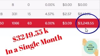 Peerfly earning Proof | Earn $3.2k in A single Month | Do It with CPA