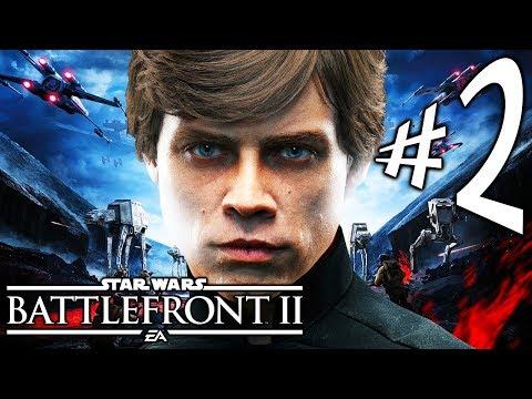 Star Wars Battlefront 2 - Parte 2: Luke e Leia!!!!! [ PC - Playthrough ]