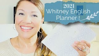 REVIEW: 2021 Whitney English Planner!