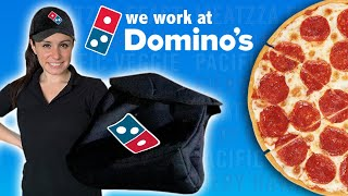 How to deliver DOMINOS PIZZA 🍕for 1 Day