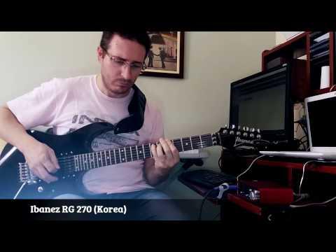 Ibanez RG 270 (Korea) - Slow Metal Ballad