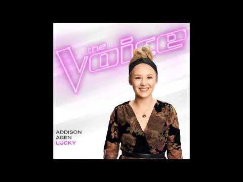 Addison Agen - Lucky - Studio Version - The Voice 13