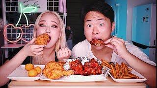 Корейская Компания Подала в СУД за Мукбанг? Знаменитая корейская курица BBQ