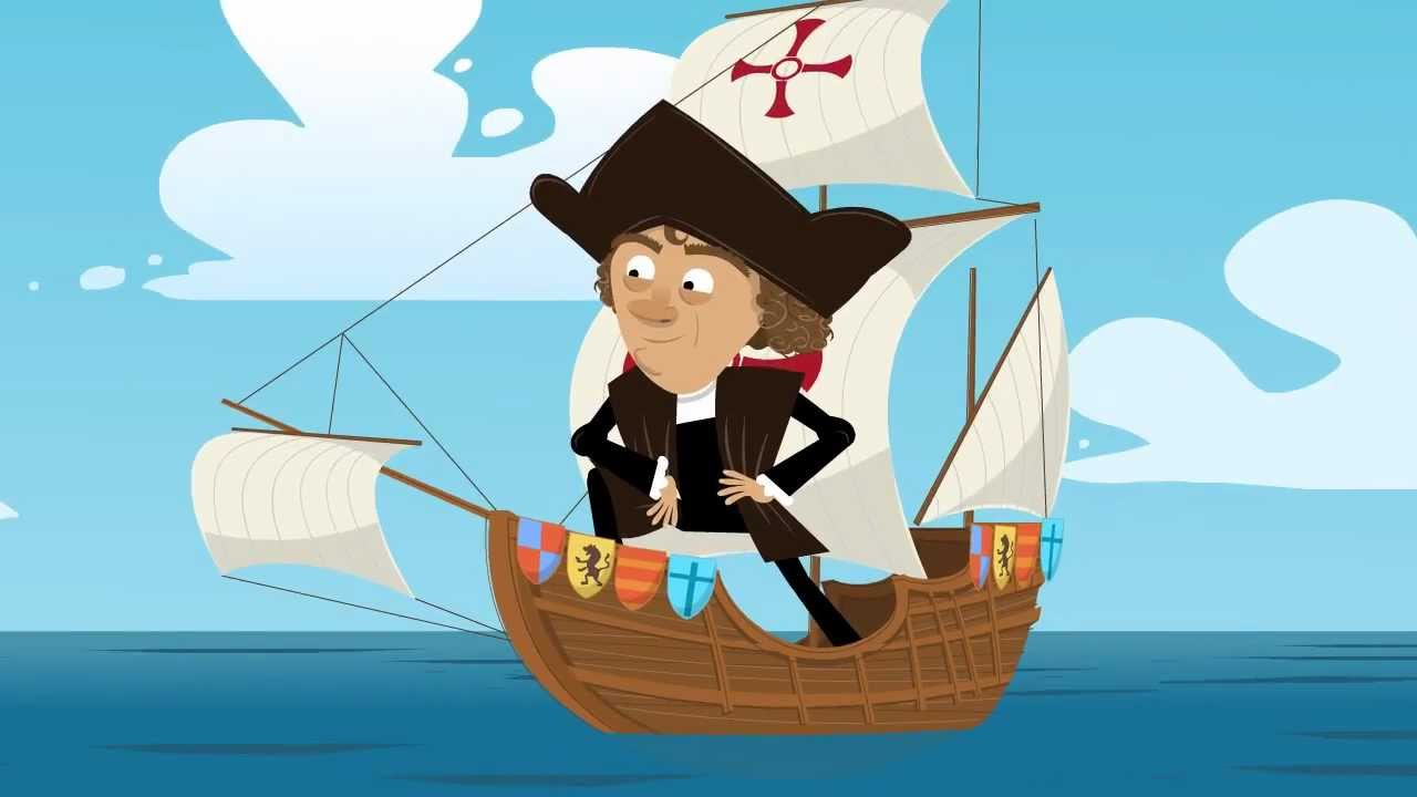 Image result for Christopher columbus cartoon