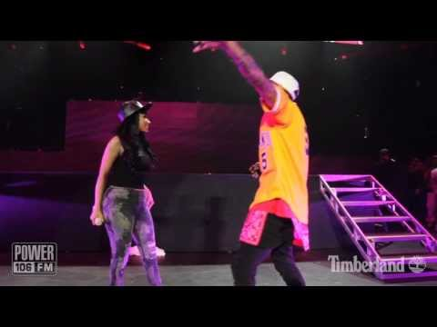 Chris Brown & Nicki Minaj LIVE - 'Take It To The Head' - PowerHouse 2013