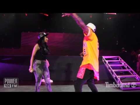 Chris Brown & Nicki Minaj   Take It To The Head  PowerHouse 2013