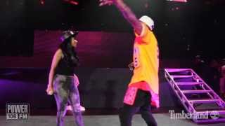 Chris Brown & Nicki Minaj LIVE -