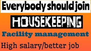 HOUSEKEEPING AND FACILITY DEPARTMENT |FOR BETTER FUTURE|