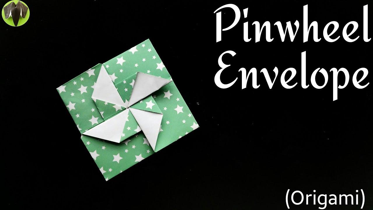 Pinwheel Envelope Letter