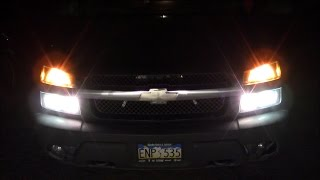 6 on Hi / All on Hi Lighting Modification 03-06 Chevy Avalanche / Silverado (6HI Mod How To)