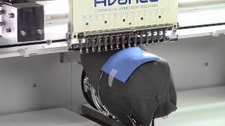 Avancé 1504 Multihead Machine 3D Embroidery on Caps | Hat Embroidery Machine