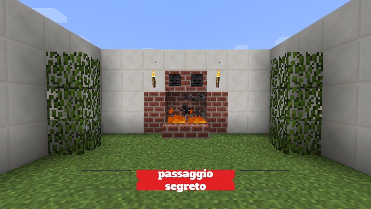 Minecraft Tutorial - Come costruire un passaggio segreto ...