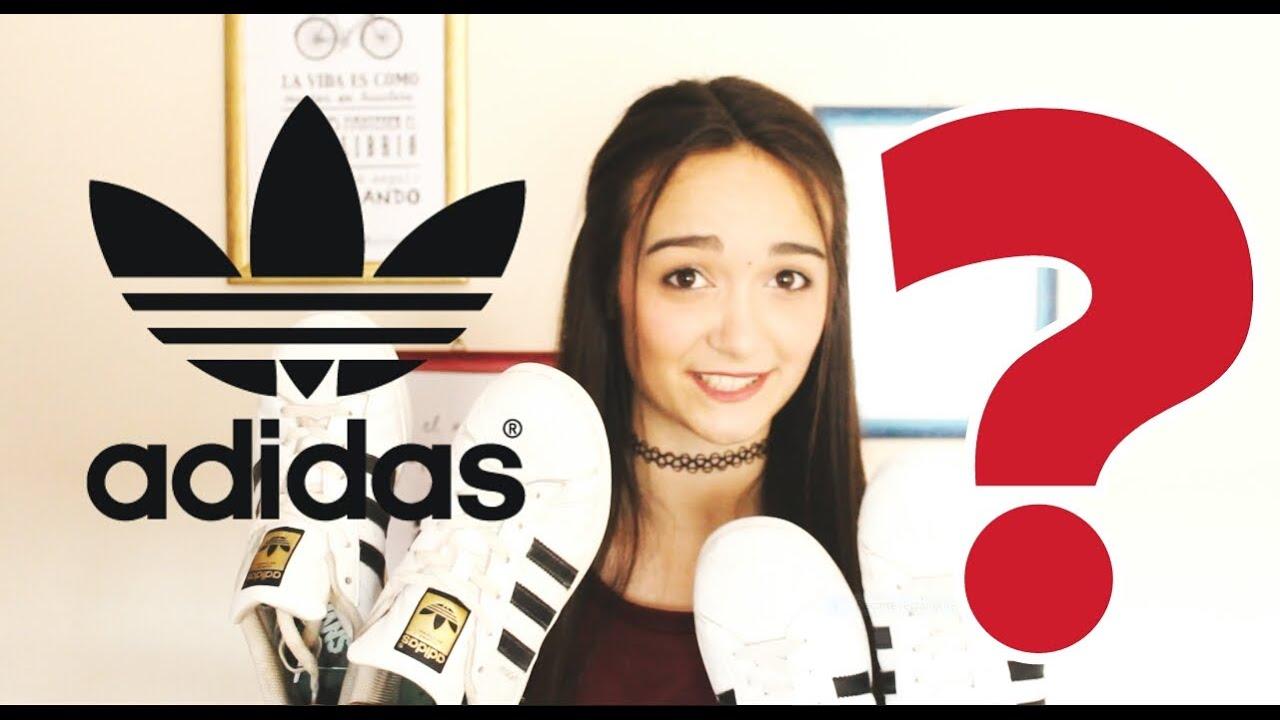 eficientemente Juramento doce  Adidas Superstar ORIGINALES vs FALSAS + AVISO - YouTube