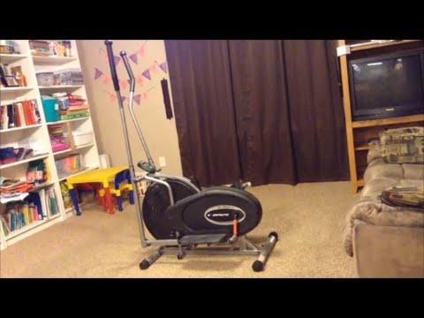 Review demo exerpeutic air elliptical machine walmart