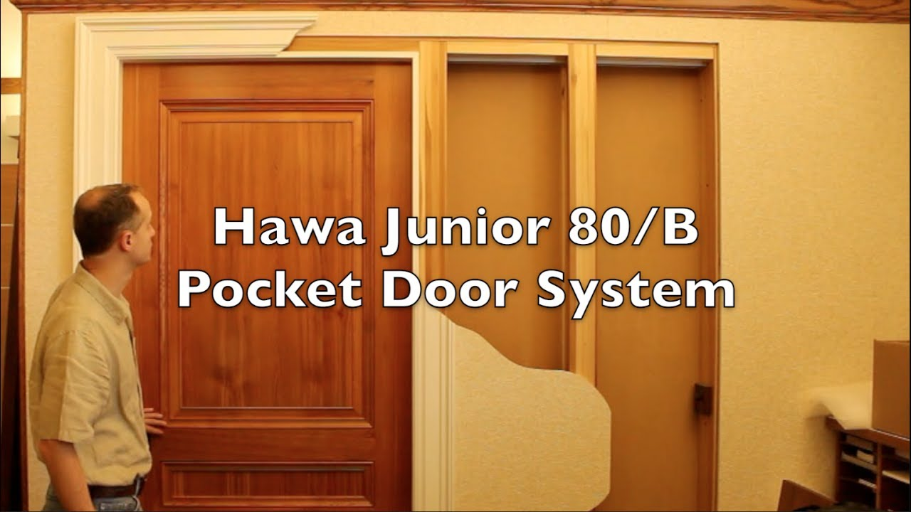 Rockwood Door \u0026 Millwork - HAWA Junior 80/B Pocket Door System & Rockwood Door \u0026 Millwork - HAWA Junior 80/B Pocket Door System - YouTube