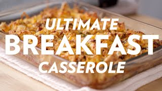 Sausage Egg &amp Cheese McMuffin Breakfast Casserole