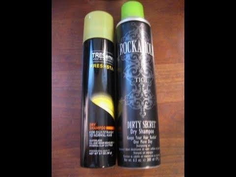 Review TIGI Rockaholic Dry Shampoo