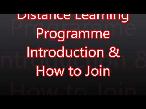 Distance learning programme's introduction About Quran Learning online