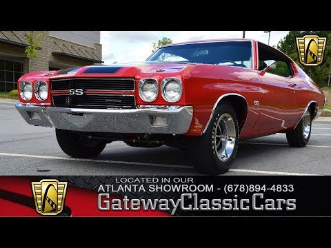 1970 Chevrolet Malibu   Gateway Classic Cars of Atlanta   Stock #898 ATL