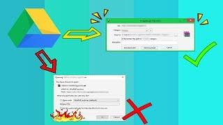 download google drive using idm