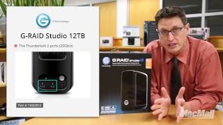 G-Technology G-RAID Studio 12TB Thunderbolt 2 Overview - MacMall