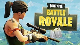 Playing Fortnite Battle Royale Hoping to Get a W