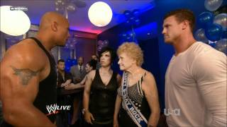 The Rock Electrifies Vickie Guerrero and Dolph Ziggler - [HD]