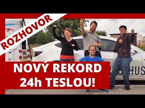 #253 Nový REKORD 24h s Teslou Model 3 | Teslicka.cz | Teslacek