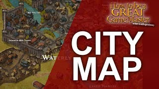 How to Create a Fantasy City Map Game Master Tips How to be a Great Game Master YouTube