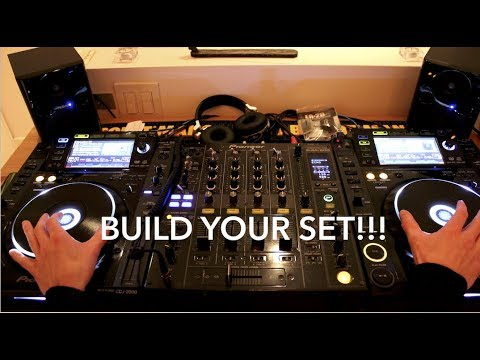 DJ BETTER - HOW TO BUILD A DJ SET