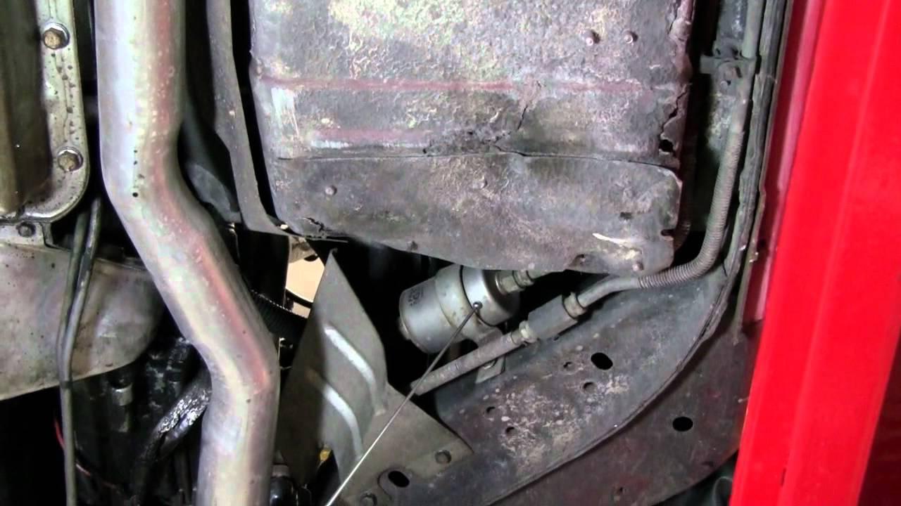 2010 camaro fuel filter location [ 1280 x 720 Pixel ]