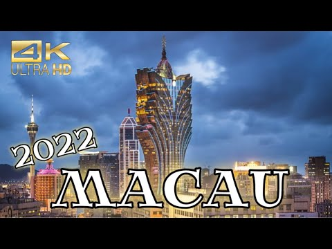 Macau 2021 || Macau, China 4K