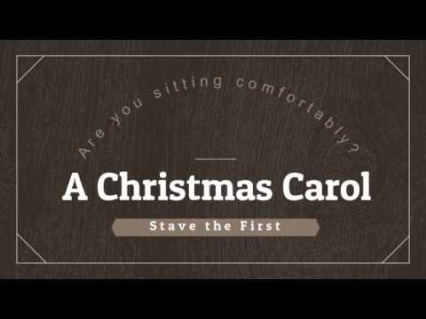 Are You Sitting Comfortably? A Christmas Carol, Stave I (Cha