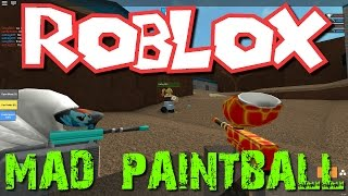 Roblox: Mad Paintball! (Family Multiplayer)