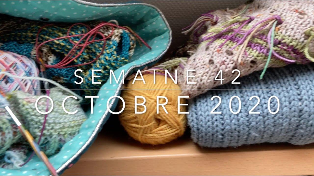 LE JOURNAL CRÉATIF DE BOBINE & PELOTE - 1BY1 - SEMAINE 42 (oct. 2020) - addict aux châles...