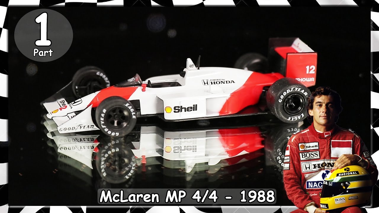 formel 1 rennwagen kollektion ayrton senna mclaren mp4 4. Black Bedroom Furniture Sets. Home Design Ideas