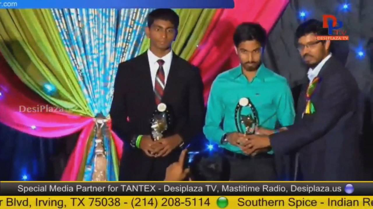 Felicitation of Merit Students at Telugu Cultural Association Houston - Convention 2016